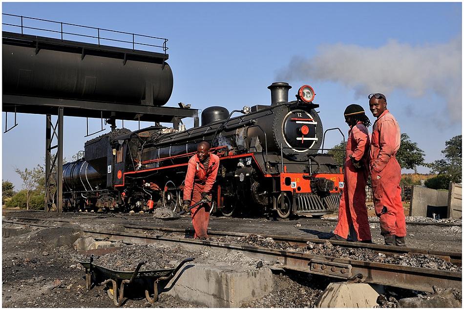 Botswana Selibe Phikwe Tanago Eisenbahnreisen