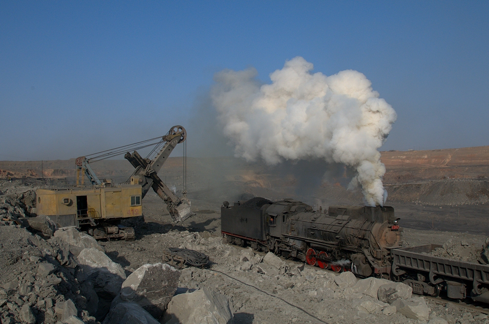 China Sandaoling JS Dampflokomotive Tanago Eisenbahnreisen