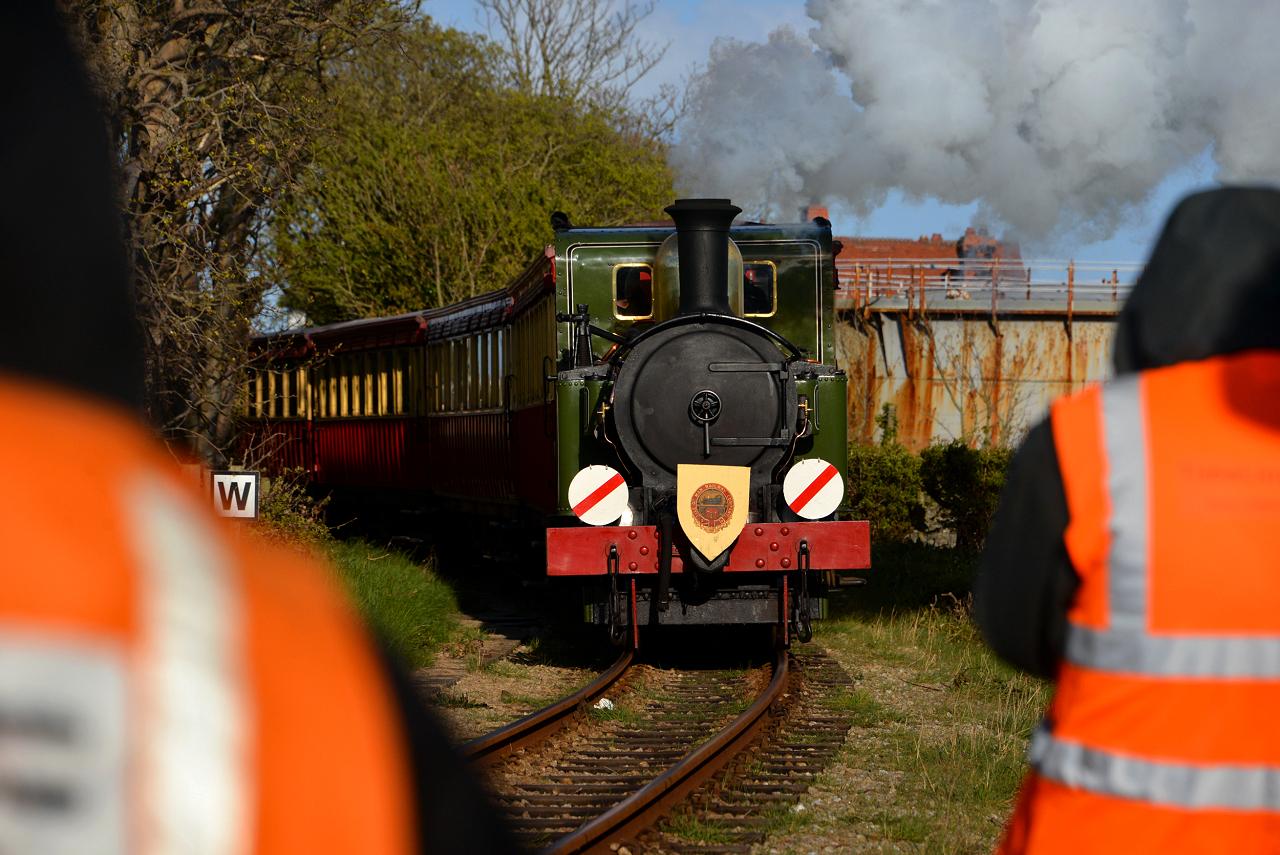 Tanago Eisenbahnreisen Dampflok Isle of Man
