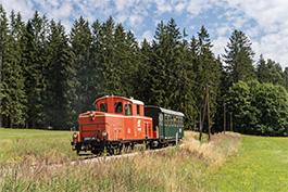 sterreich: Waldviertler Schmalspurbahn, Juli 2018, Tanago Railfan Tours / Eisenbahnreisen Erlebnisreisen