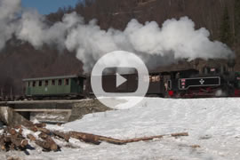 Link zum Video »Winter Steam in Vaser Valley - Part 2 - Cozia-1« auf YouTube