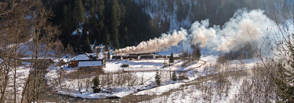 Rumänien Wassertal Moldovita Eisenbahnreisen Erlebnisreisen
