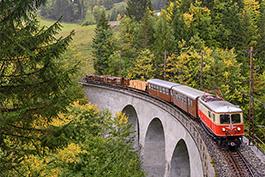 Österreich-Lokalbahnromantik 2021, Tanago Eisenbahnreisen Erlebnisreisen