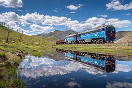 Mongolia: The Transmongolian Railway in Summer 2021 railcar Tanago Railfan tours photo charter