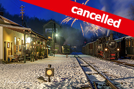 Austria Winter steam in the Steyr Valley 2021, Tanago Railfan tours photo charter