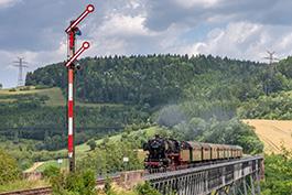 50 2988 on the Sauschwänzlebahn Tanago Eisenbahnreisen Erlebnisreisen