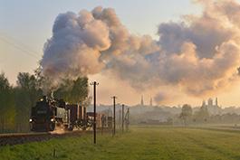 Zittau Schmalspur Dampflok Güterzug Tanago Eisenbahnreisen Erlebnisreisen